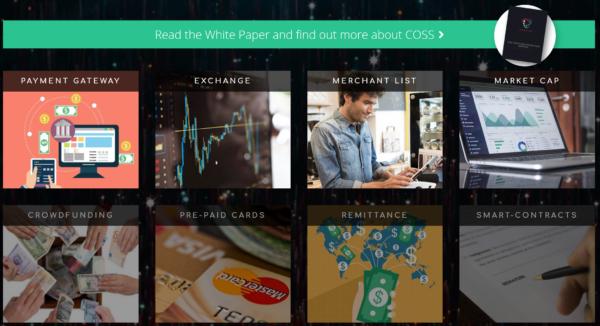 仮想通貨取引所 COSS 配当 貰える 特徴 登録方法 購入方法 ご紹介