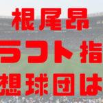 2018年 ドラフト 大阪桐蔭 根尾昂 指名予想球団 成績 経歴 特徴