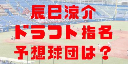 2018年ドラフト立命館大学 辰己涼介の指名予想球団!成績・経歴・特徴は?