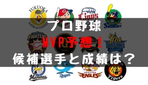 2019年 プロ野球 MVP予想!候補選手や選考基準、発表日は?