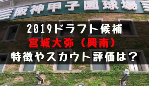 【ドラフト】宮城大弥(興南)の成績・経歴・特徴は?