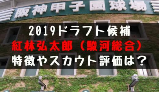 【ドラフト】紅林弘太郎(駿河総合)の成績・経歴・特徴は?