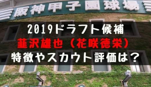 【ドラフト】韮沢雄也(花咲徳栄)の成績・経歴・特徴は?