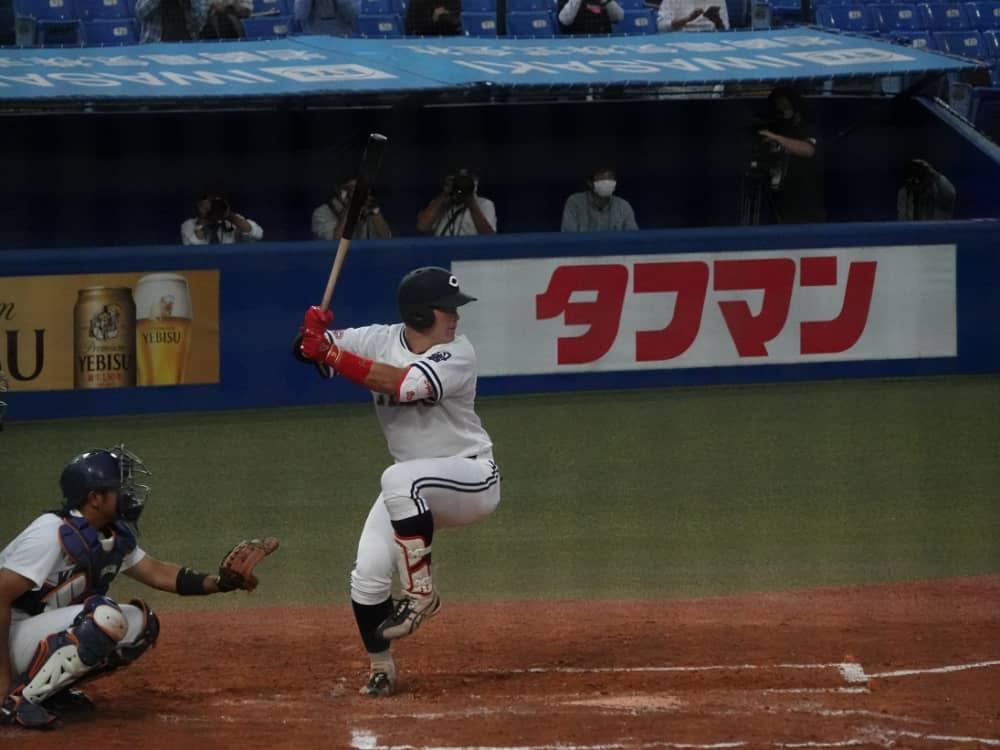 【ドラフト】牧秀悟(中央大)の成績・経歴・特徴