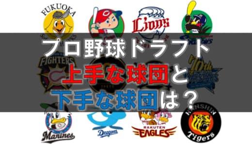 【ドラフト会議】12球団評価ランキング!上手な球団と下手な球団を徹底調査