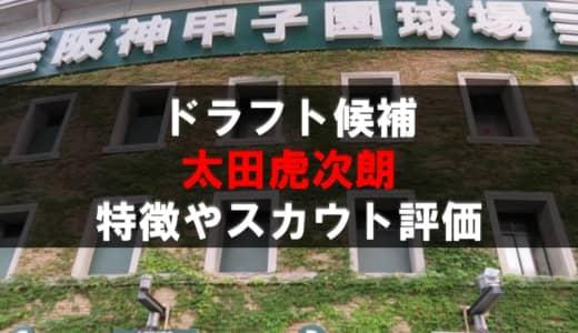 【ドラフト】太田虎次朗(明豊)の成績・経歴・特徴