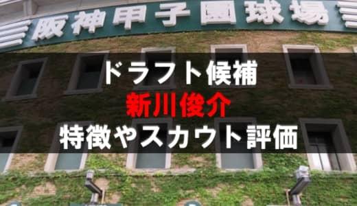 【ドラフト】新川俊介(具志川商)の成績・経歴・特徴