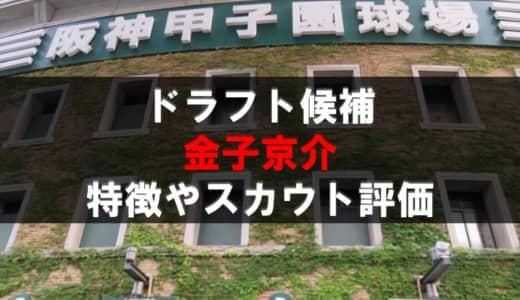 【ドラフト】金子京介(盛岡大付)の成績・経歴・特徴